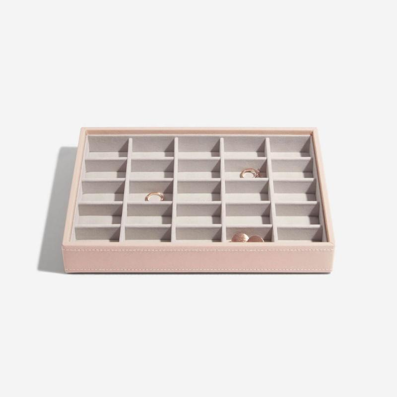 Šperkovnica Stackers CLASSIC 3set / Blush Pink DISPLAY