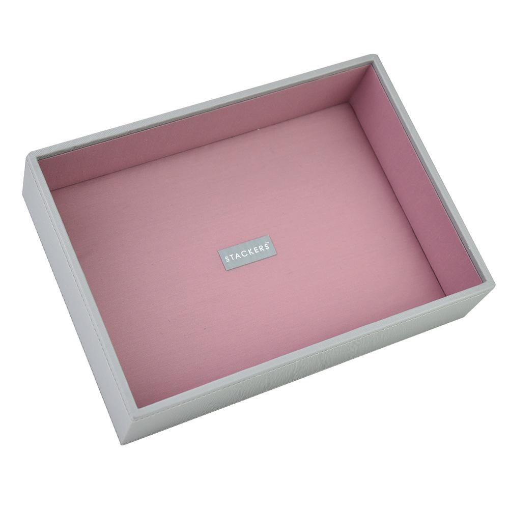 CLASSIC šperkovnica - hlboký box antic rose grey